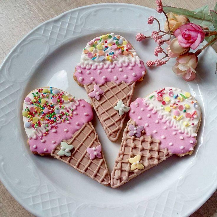 Печенье для любителей мороженого. #моепеченье  #печеньесайсингом  #печеньекраснодар  #домашнеепеченьеназаказ  #сладкиеподарки