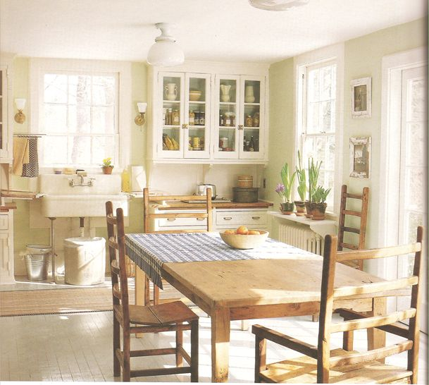 There S Something So Warm And Friendly About A Country Style Kitchen