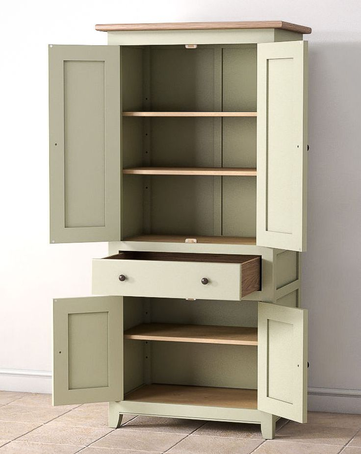 Larder Cupboard - Bespoke Painted Kitchen Unit - Shaker Style - Pantry -Handmade like the drawer midway