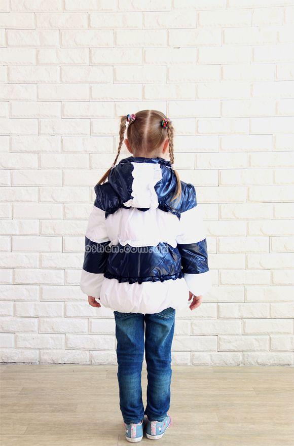 Легкая демисезонная курточка для девочек «Морячка»