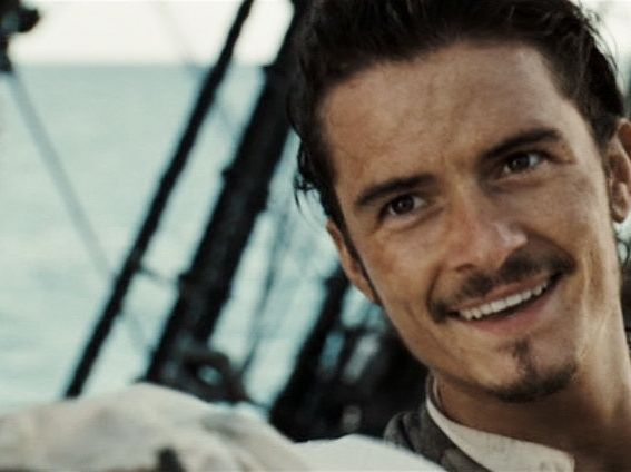 William Turner! There's his lovely pirate face! He's got the makings of a very fine pirate!