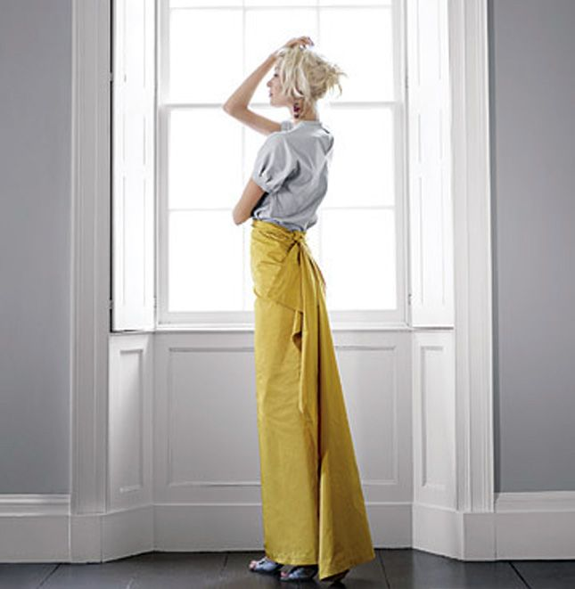 loved this diy skirt and the model's hair in an old martha mag (but what was it called? kind of wanted to be Domino) years ago.