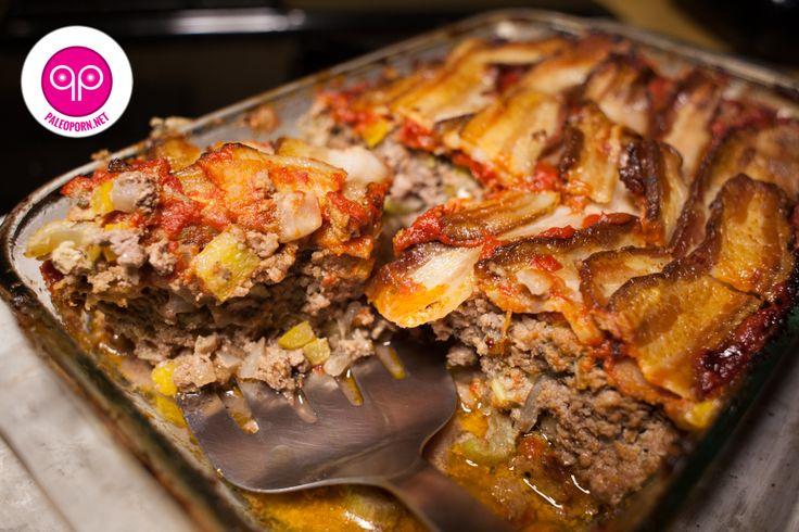 Meatloaf on Pinterest | Paleo meatloaf, Whole30 and Italian meatloaf ...