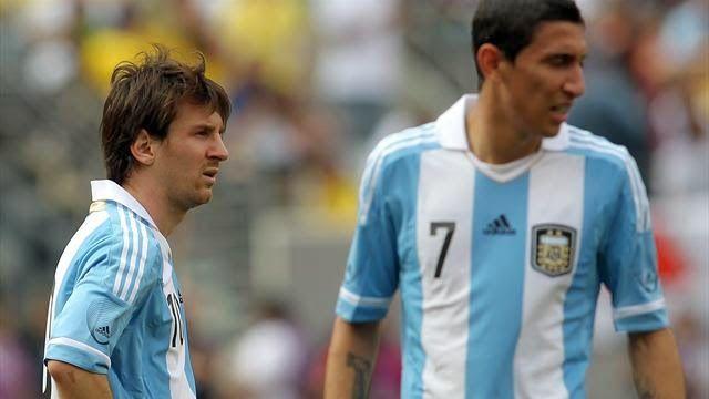 The Legend Lionel Messi: Di Maria reassures Barca fans at Messi