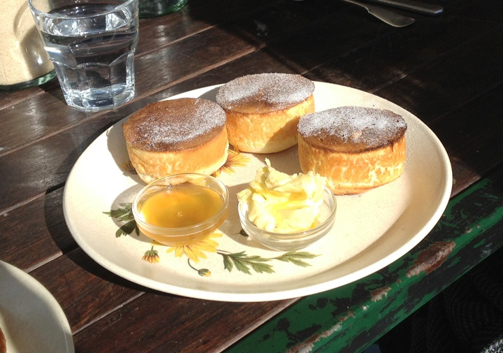 homemade crumpets from Gypsey and Musquito on Bridge Road