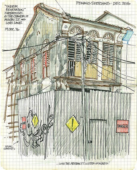 Muntri St shophouse - 19Dec