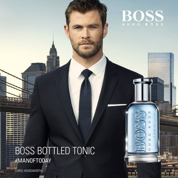 """You'll be seeing a lot more of Chris Hemsworth.. He's thenew brand ambassador forHugo Boss' Boss Bottled fragrance. Chris toldUs Weekly: """"I feel great about being the new face of [the fragrances]. It's a huge honor and I really identify…Read more ›"""
