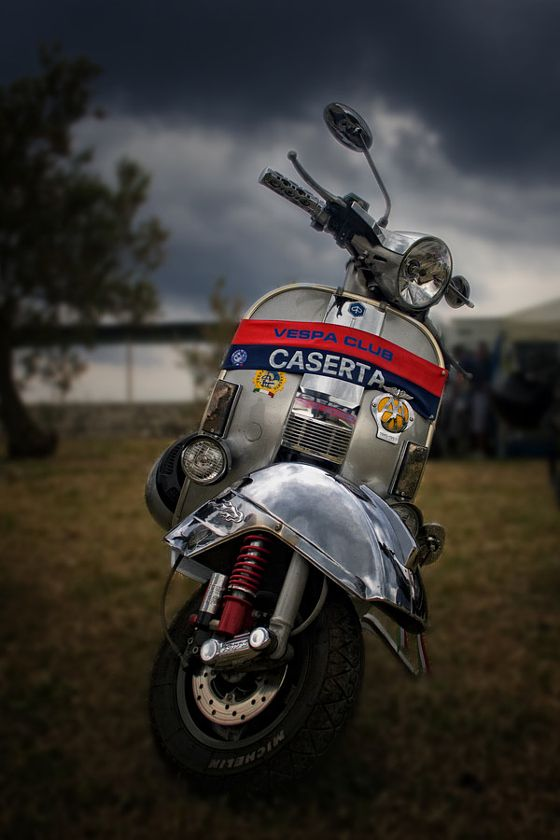 Vespa PX 150 - stock photo