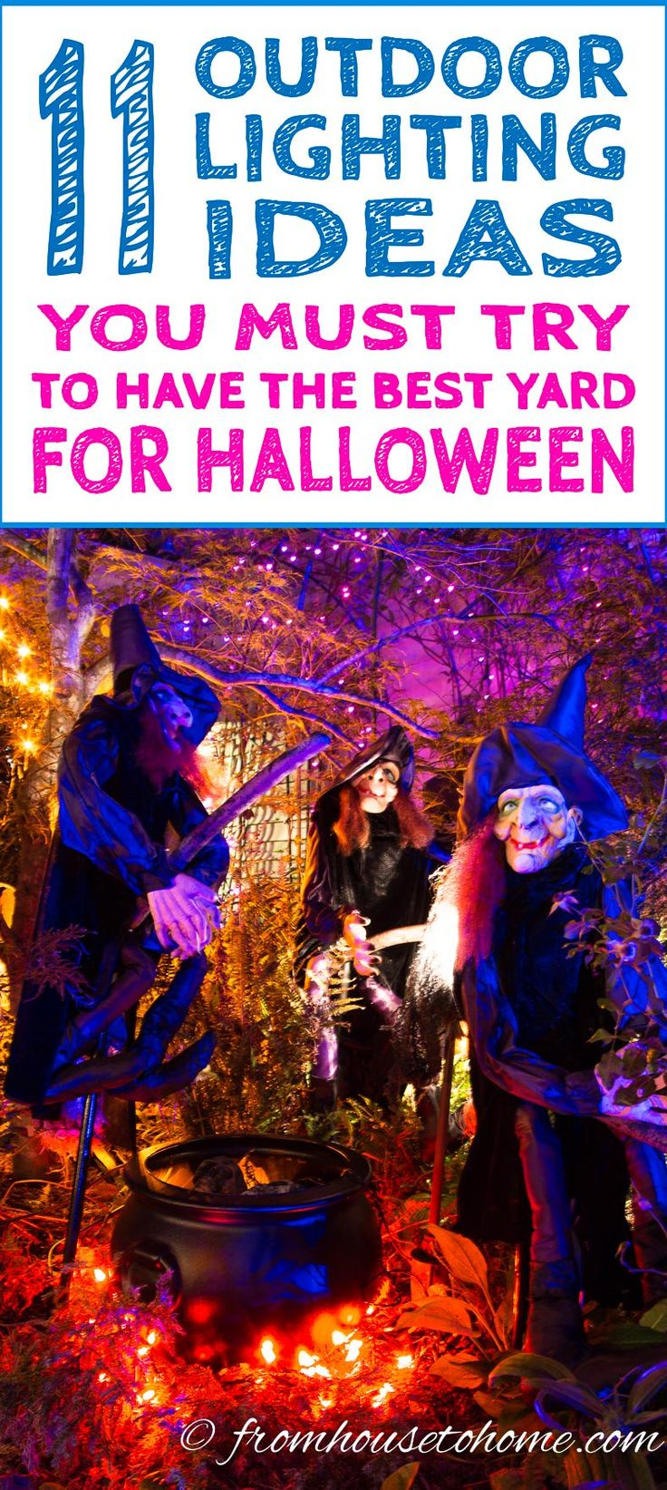 best outdoor halloween decoration