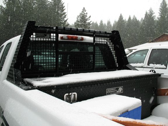 Aluminum Headache Rack For Pickup Trucks Built By Highway