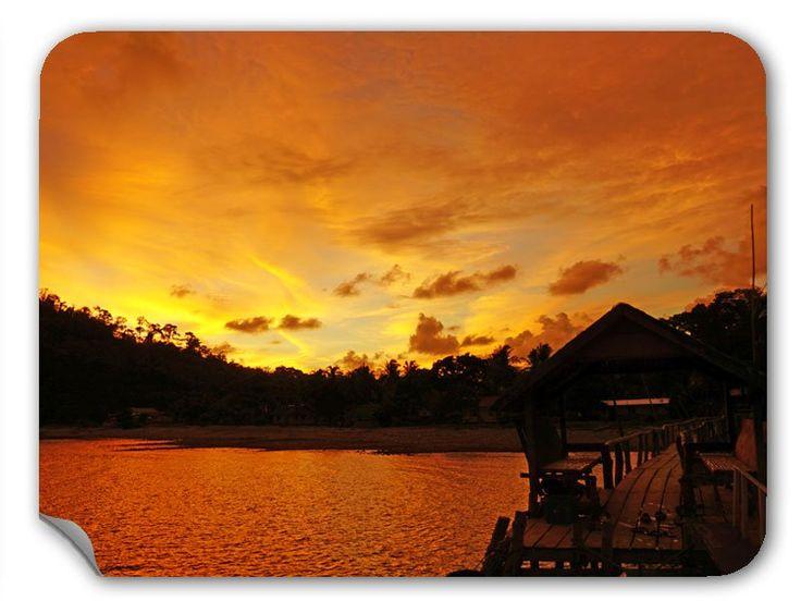 Sonnenuntergang klebefolie klebefolien folie for Klebefolie drucken