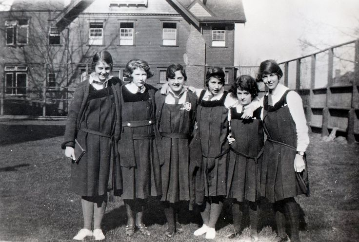school days in 1930 | Moderated drill uniform for school standard: Navy tunic with velvet ...