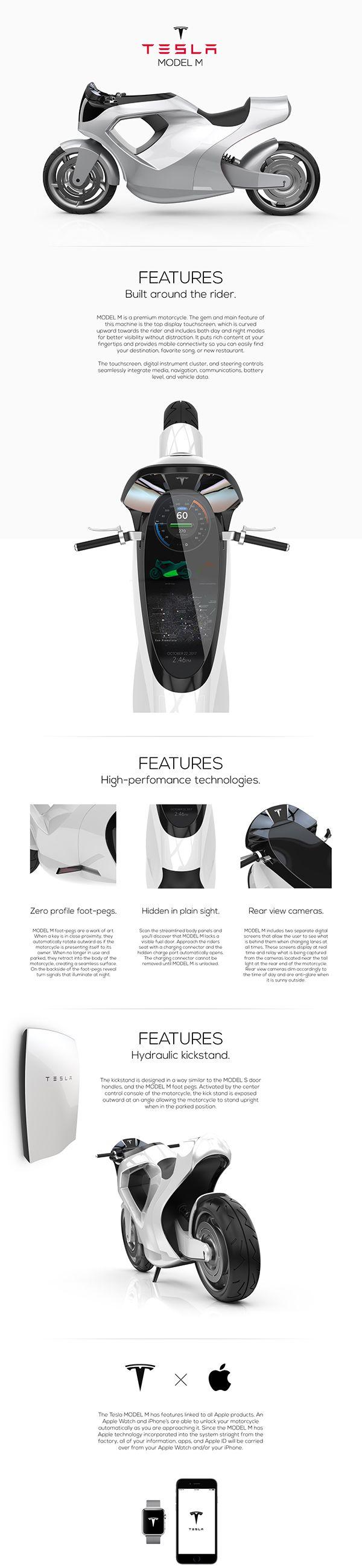 TESLA MODEL M on Behance Design,Tecnologia,Tesla,Veículos,Eletricos,Meio Ambiente,Motocicletas,Blog do Mesquita XXX