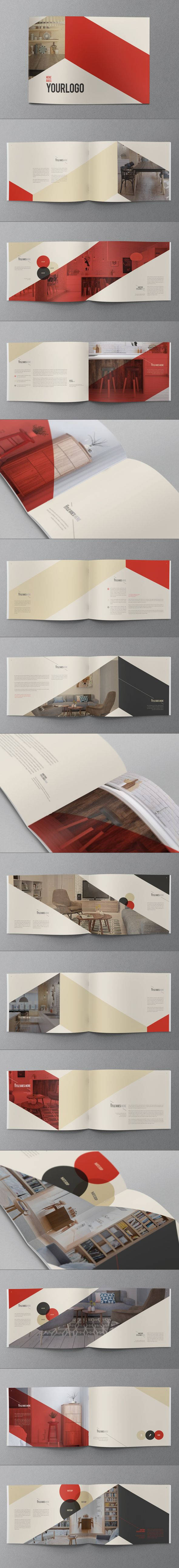 Retro Vintage Brochure. Download here: http://graphicriver.net/item/retro-vintage-brochure/9248518?ref=abradesign #brochure #design