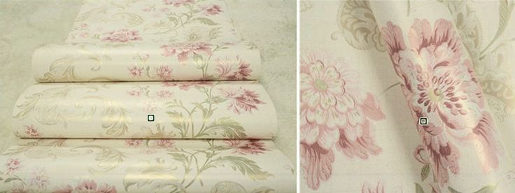 American-Vintage-printing-wallcovering-background-wall-modern-flower-wall-paper-floral-paper-wallpaper-bedroom-Green-Beige.jpg (770×289)