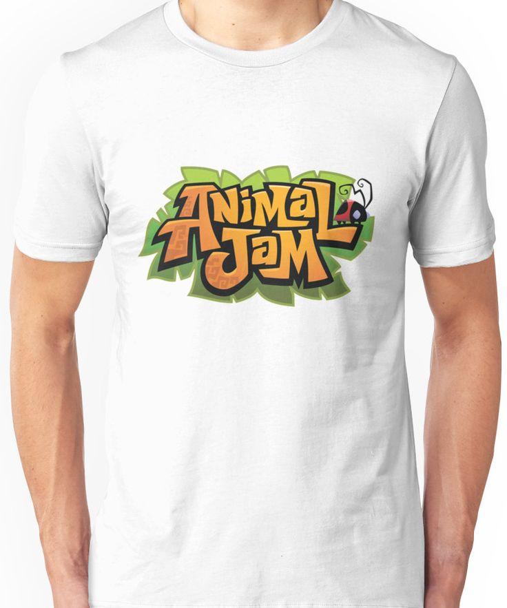 Animal Jam Logo Unisex T-Shirt | Shirts, Hoodie shirt, T shirt