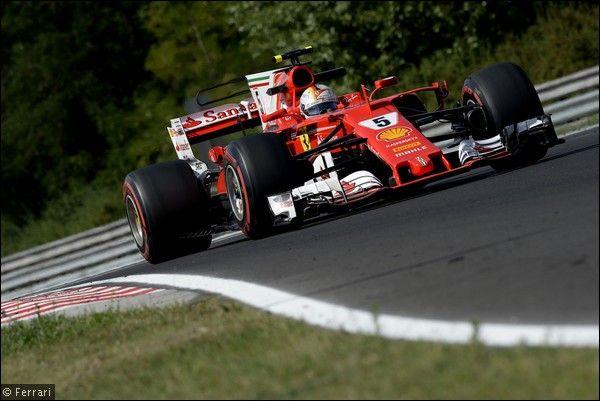 F1 Test Ungheria, 2° giorno: Vettel il più veloce, Kubica quarto