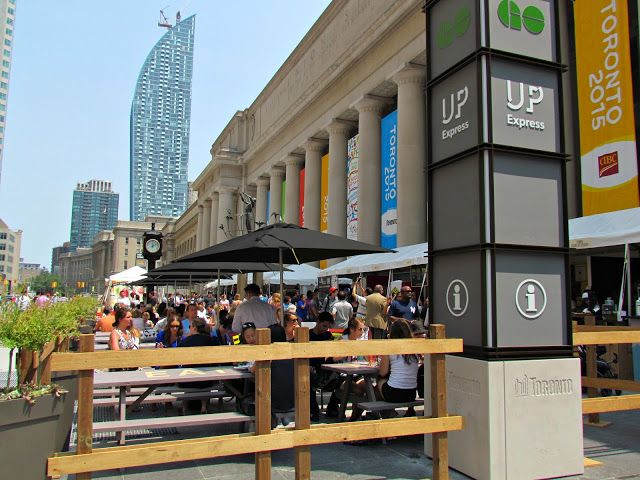 JUNK BOAT TRAVELS: Weekend Cooking Union Station
