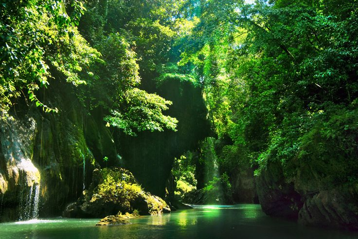 Cukang Taneuh/Green Canyon Indonesia - West Java, Indonesia