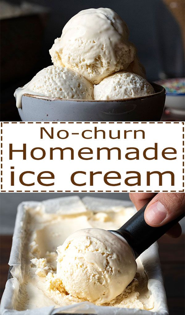 Learn How To Make Homemade Ice Cream With Rich Vanilla Flavor Creamy Texture And Without A M Homemade Ice Cream Ice Cream Maker Recipes Frozen Dessert Recipe