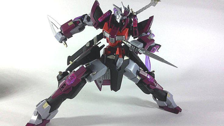 HGBF 1/144 Denial Gundam Shinobi Custom: PHOTO REVIEW http://www.gunjap.net/site/?p=258905