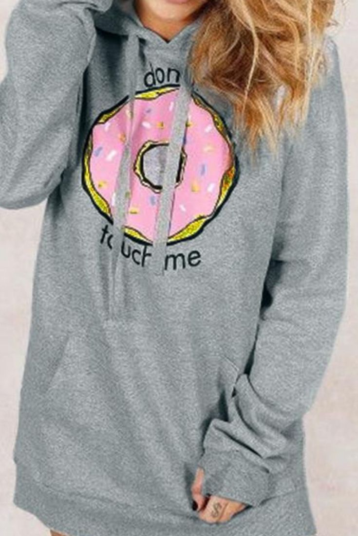 8892cd7253 Donuts Hoodie for women Food Fashion Lover Donuts lover Cute hoodie women  and cute hoodies for teens girls fashion  hoodies  donuts   hoodiesfor  women ...