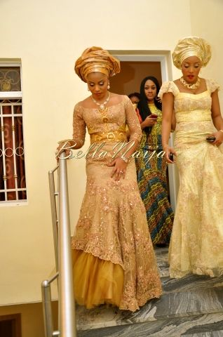 gold African fashion