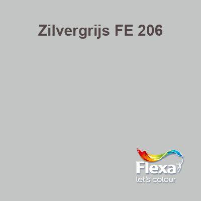 Flexa Expert kleur Zilvergrijs FE 206