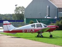 G-AVLN @ EGBK - Beagle Pup - the fourth one built, at Sywell - by Simon Palmer