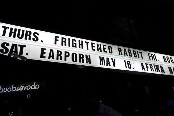 Frightened Rabbit :: moshtix Photo Gallery
