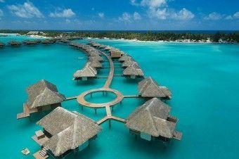 ボラボラ島フォーシーズンズホテル/フランス領ポリネシア