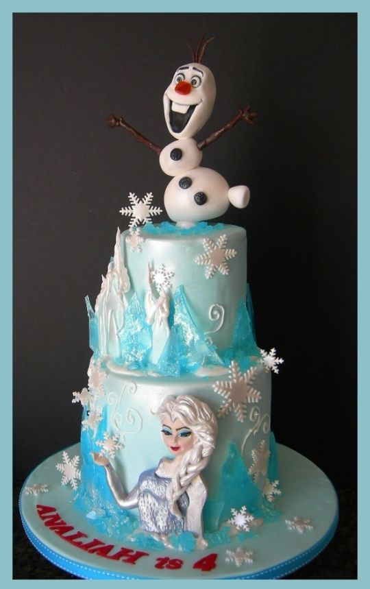 Elsa Birthday Cake Brisbane Image Inspiration of Cake and Birthday