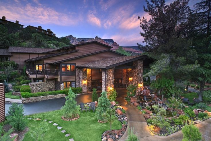 Situated in Sedona's Red Rock Country on the edge of Oak Creek, L'Auberge de Sedona invites guests to idyllic private cottages where magical moments can happen.