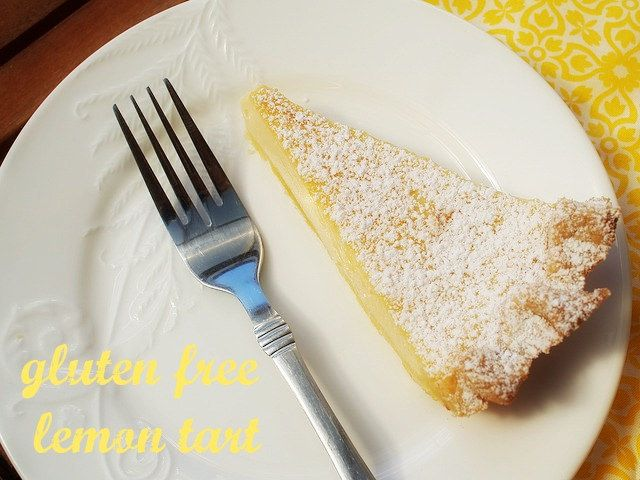 I almost wanted to call this tart – 'you won't believe it's gluten free lemon tart'. It is so...