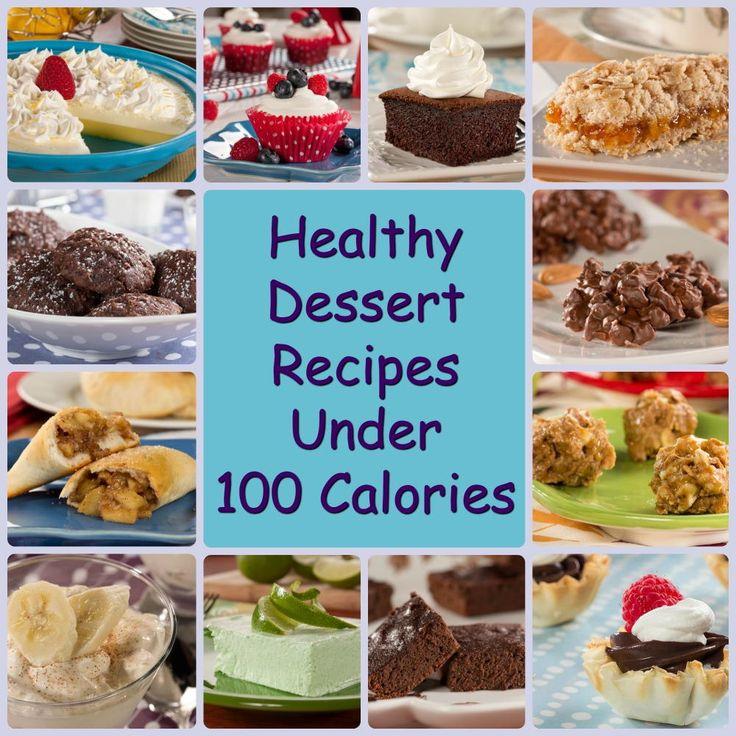 12 Healthy Dessert Recipes under 100 Calories | EverydayDiabeticRecipes.com
