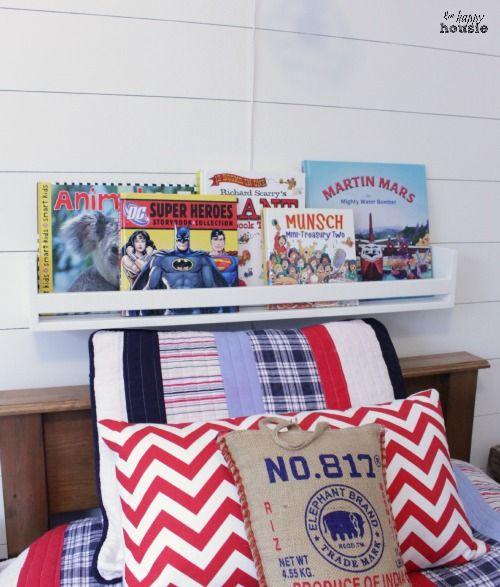 Diy Book Display Wall Shelves Pb Kids Knock Off Diy