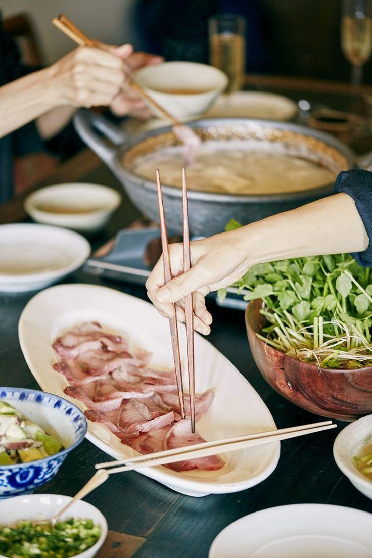 料理家・冷水さんのレシピ:第21回 ブリのみぞれ鍋、手作りポン酢、セロリと柚子の甘酢和え他