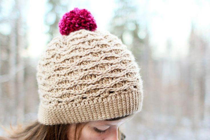 Tessa Hat – New Crochet Pattern via Mamachee