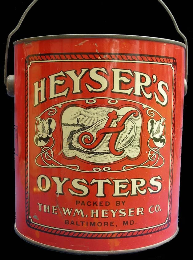 <3  Heyser Brand Gallon of Oysters ~ Baltimore, Maryland