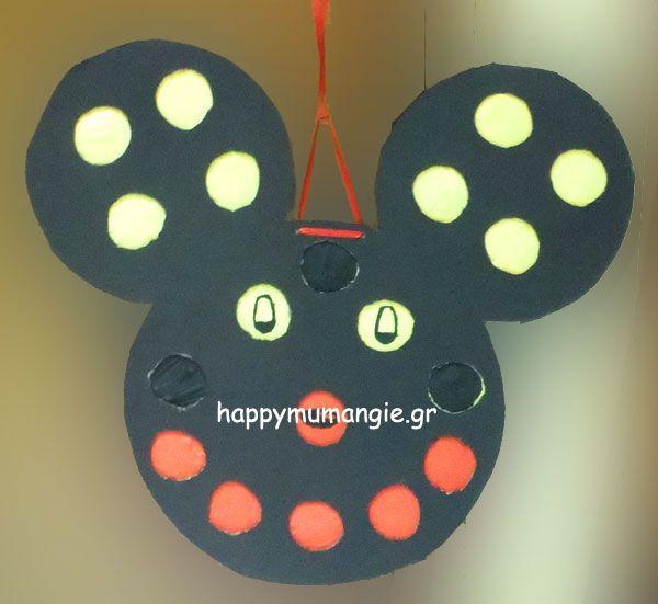 mickey mouse pinata punch box