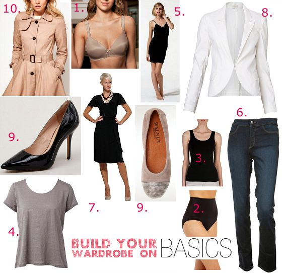 Unlock your style in 14 days: Build your wardrobe on basics | www.stylingyou.com.au