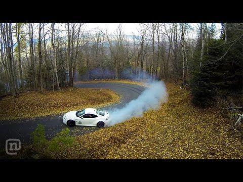 Ryan Tuerck Shreds Tires! NEW Street FRS Drifting At Woodward: Tuerck'd - YouTube