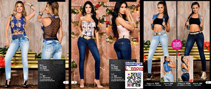 AA0206 - Jeans, Blusas & Ropa Intima