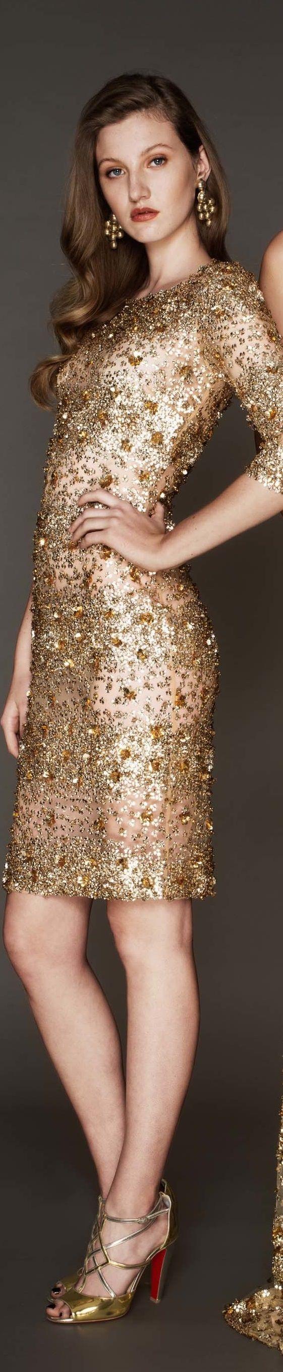 Best 25+ Gold cocktail dress ideas only on Pinterest | Short gold ...