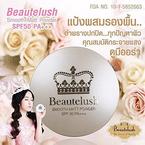 3 x Beautelush Smooth Matt Powder SPF 30 PA+++ No.01 Ivory For White Skin [Get Free Tomato Facial Mask]. Buy Now From THAIGIFTSHOP Get Free Special Gifts Set !!. New!!!Genuine!! Very Hot!! Powder, smooth, soft but well concealed. Using the principles. Of light scattering and fluorescent starch with small particles coated with the polymer. Starch granule coated with a polymer to fill the trenches pores when the incident came to light. In this polymer.Some light will be reflected back out…