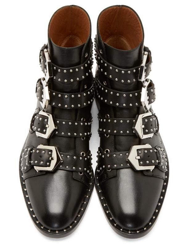 Flow like a Rivet Motorcycle Boots