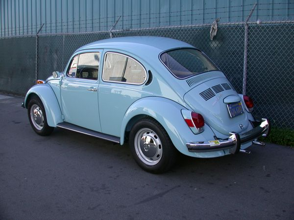 Jodie Marie Jennings' 1972 VW Beetle as mentioned in Fortune Brawling, second book in The Fortune Series