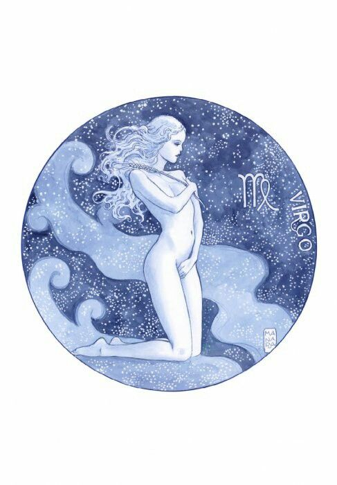 Milo Manara Zodiaco Vergine