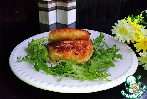 """Котлеты из филе минтая """"Неженки"""" - кулинарный рецепт"""