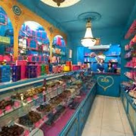 Blog   The Chocolate Clinic  Prestat's chocolate shop in the UK. Oh, it looks like such fun!!